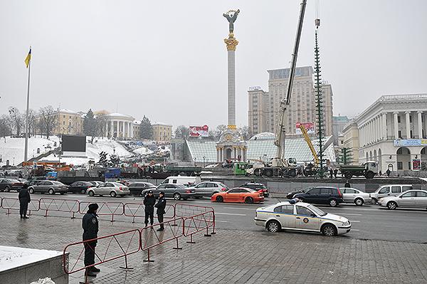 75 gorod 18 - Исчез палаточный городок предпринимателей на Майдане в Киеве