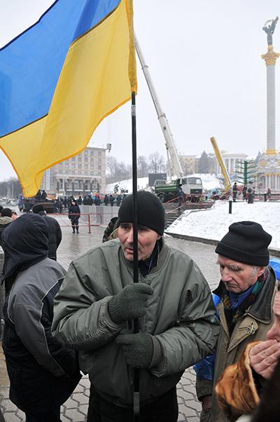 75 gorod 8 - Исчез палаточный городок предпринимателей на Майдане в Киеве