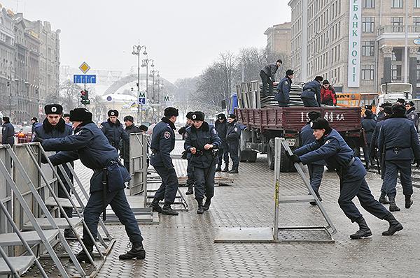 75 gorod 9 - Исчез палаточный городок предпринимателей на Майдане в Киеве