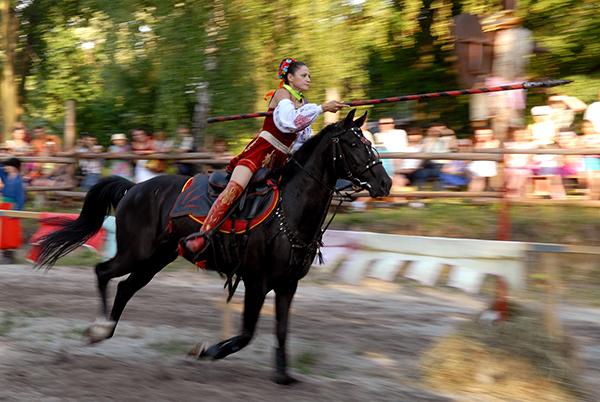 Международный рыцарский турнир «Сабля Казака Мамая» проходит в Киеве. Фоторепортаж