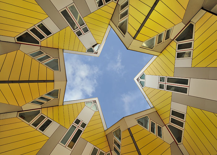 75 kub 2 - Кубические дома в Нидерландах