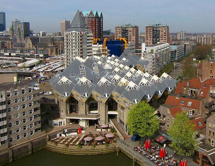 75 kub 3 - Кубические дома в Нидерландах