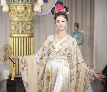 Международный конкурс моделей одежды в стиле Хань