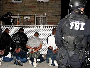 В США прошла спецоперация против уличных банд