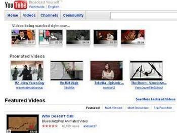Посещаемость YouTube удвоилась за полгода