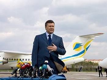 Янукович не признал независимость Абхазии и Южной Осетии