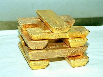 Стоимость золота растет
