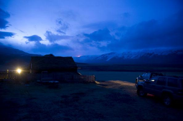 Извержение вулкана началось на юге Исландии. Фоторепортаж