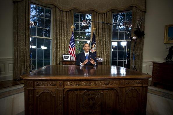 Барак Обама выступил с обращением  к нации