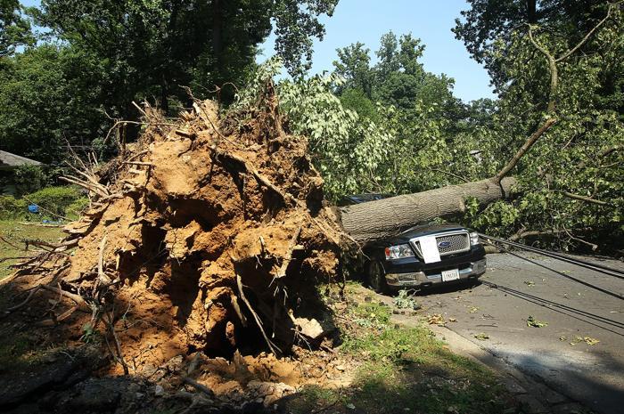 Над Вашингтоном пронеслась грозовая буря