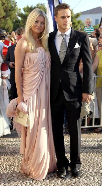 Гости на свадьбе принца Греции Николаоса и Татьяны Блатник