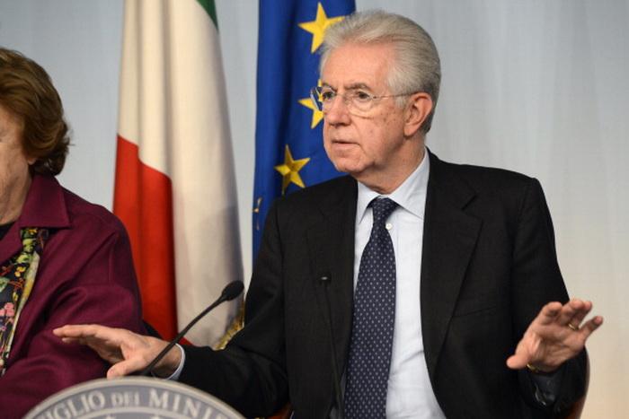 161 Mario Monti 121212 - Правительственный кризис в Италии: 47% итальянцев высказались за второй срок правительства Монти