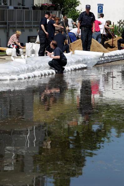 Наводнение пришло в Германию. Фоторепортаж