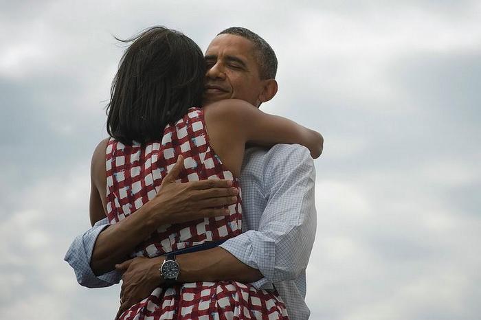 Республиканец  Джордж Буш проголосовал за демократа Барака Обаму