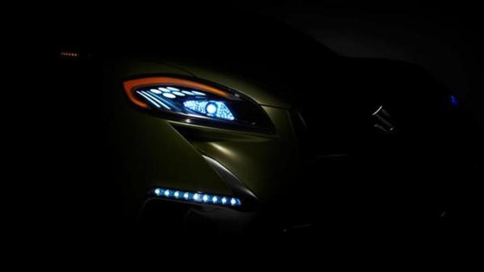 Концепт Suzuki S-Cross будет представлен в Париже