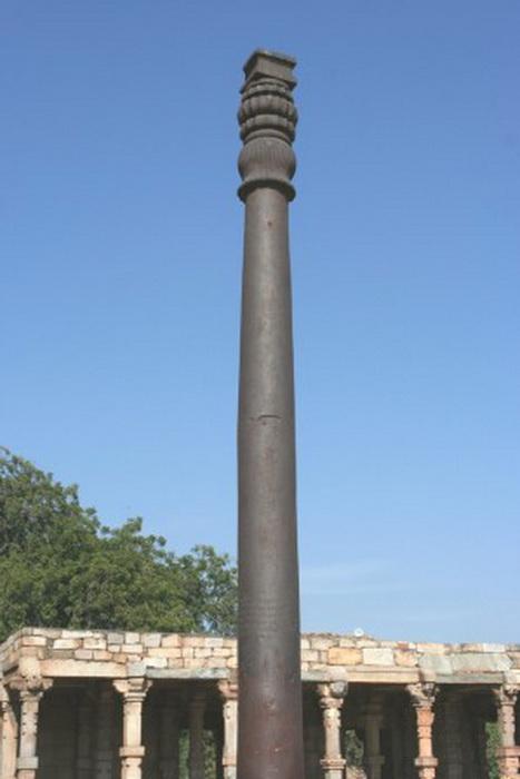 163 pamitnik Iron Pillar ashoka india4 - Памятники Индии