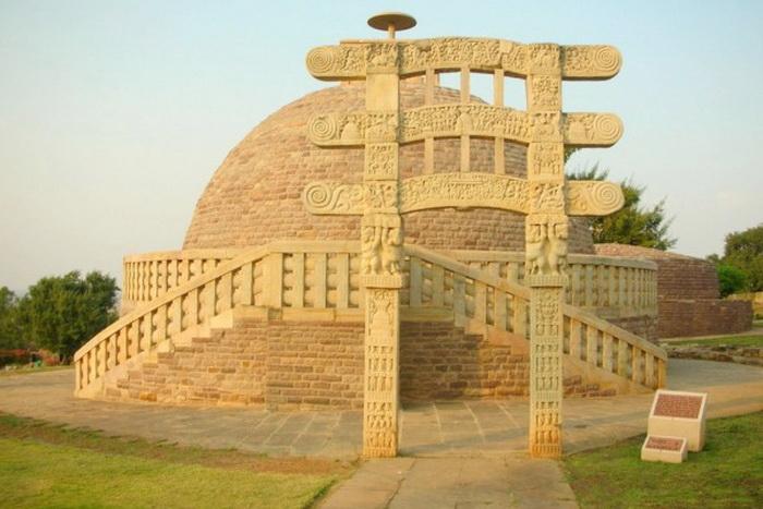 163 pamitnik Stupa Sanchi india5 - Памятники Индии
