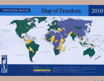 173 04 05 10 totalitarizm - Freedom House оставила Россию в списке самых несвободных стран