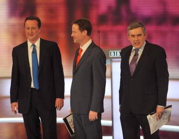 173 30 04 10 debate - В Британии завершились предвыборные теледебаты