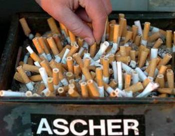 Каждый четвертый житель Германии курит