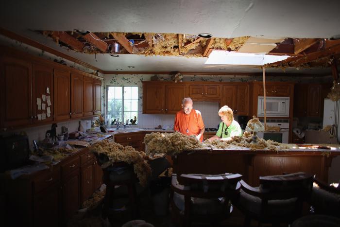 Последняя серия торнадо в США привела к гибели 14 человек