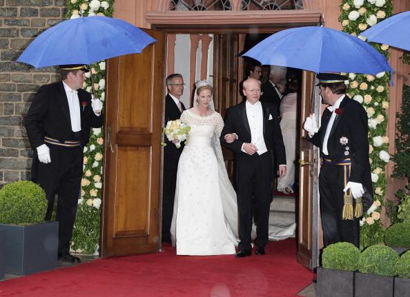 Фоторепортаж о свадьбе принцессы Натали Сайн-Витгенштейн-Берлебург и  Александра Йоханнсманна