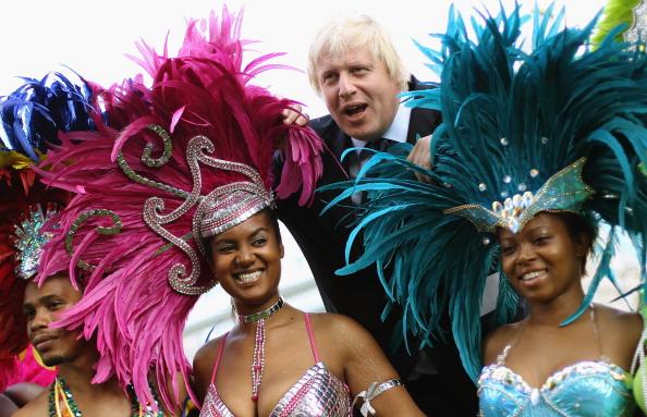 caiwaz5 - Фоторепортаж о встрече мэра Лондона с участниками карнавала в Ноттинг Хилл