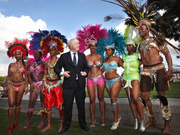 caiwaz6 - Фоторепортаж о встрече мэра Лондона с участниками карнавала в Ноттинг Хилл