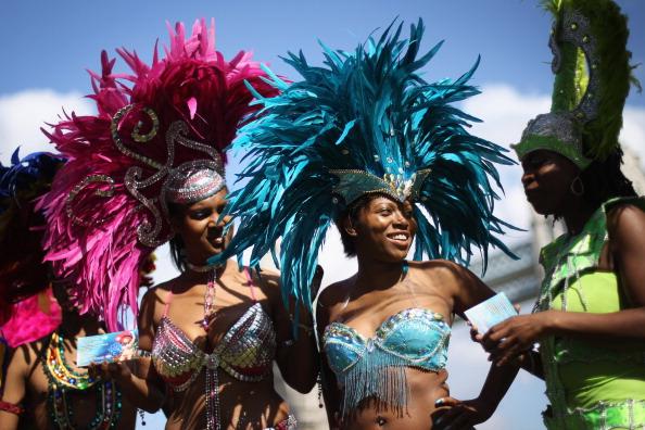 caiwaz7 - Фоторепортаж о встрече мэра Лондона с участниками карнавала в Ноттинг Хилл
