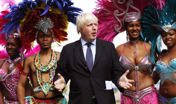 caiwaz8 - Фоторепортаж о встрече мэра Лондона с участниками карнавала в Ноттинг Хилл