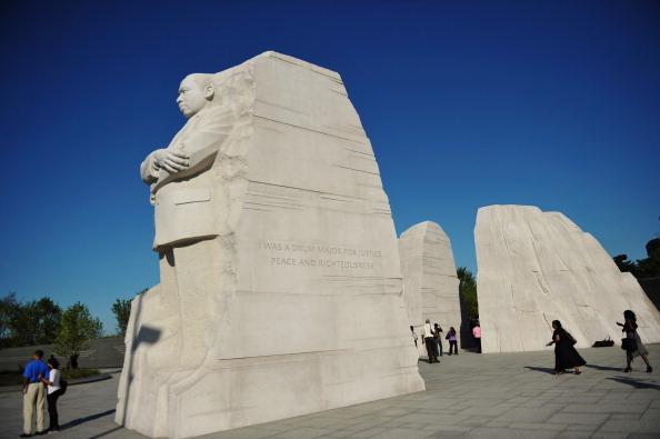 diaokesh10 - Фоторепортаж об открытии скульптуры Мартина Лютера Кинга