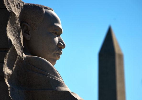 diaokesh11 - Фоторепортаж об открытии скульптуры Мартина Лютера Кинга