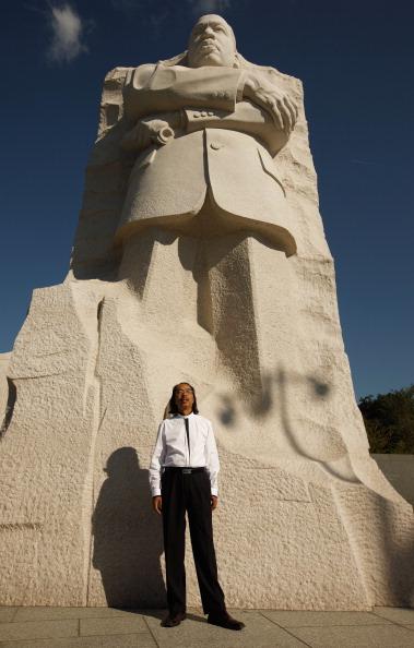 diaokesh14 - Фоторепортаж об открытии скульптуры Мартина Лютера Кинга
