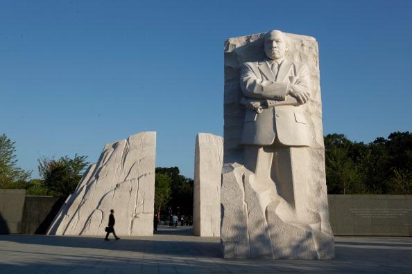 diaokesh15 - Фоторепортаж об открытии скульптуры Мартина Лютера Кинга