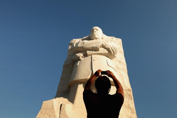diaokesh16 - Фоторепортаж об открытии скульптуры Мартина Лютера Кинга