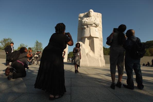 diaokesh17 - Фоторепортаж об открытии скульптуры Мартина Лютера Кинга