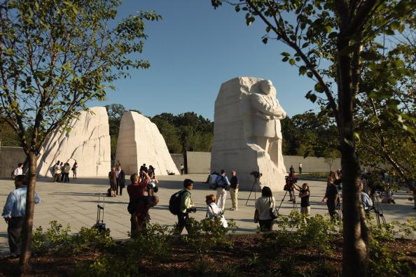 diaokesh18 - Фоторепортаж об открытии скульптуры Мартина Лютера Кинга