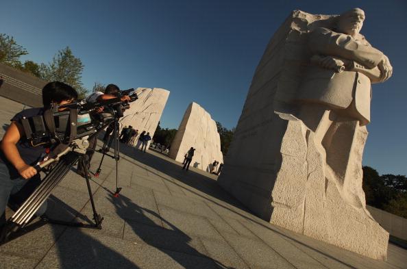 diaokesh20 - Фоторепортаж об открытии скульптуры Мартина Лютера Кинга