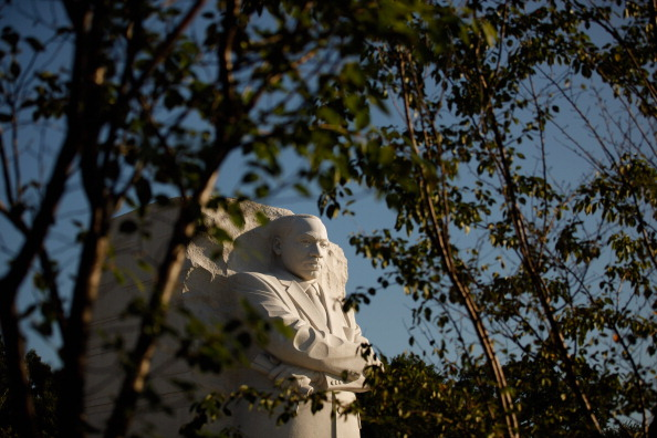 diaokesh21 - Фоторепортаж об открытии скульптуры Мартина Лютера Кинга
