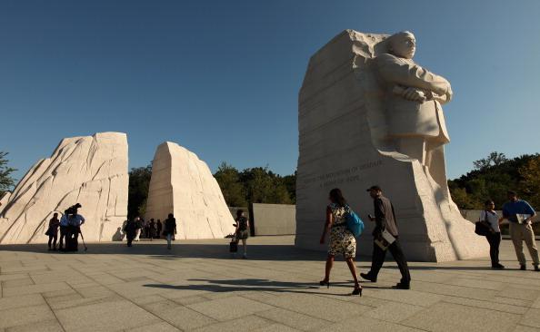 diaokesh24 - Фоторепортаж об открытии скульптуры Мартина Лютера Кинга