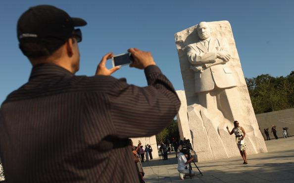 diaokesh25 - Фоторепортаж об открытии скульптуры Мартина Лютера Кинга