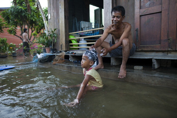 Фоторепортаж о наводнении в Таиланде