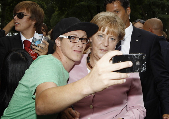 Фоторепортаж о дне открытых дверей в  Бундесканцелярии Германии