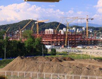 126 25 03 11 SHOCHI - В Сочи приступили к постройке Олимпийской деревни