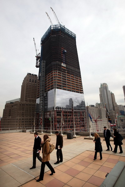 В Нью-Йорке воздвигается новое здание ВТЦ