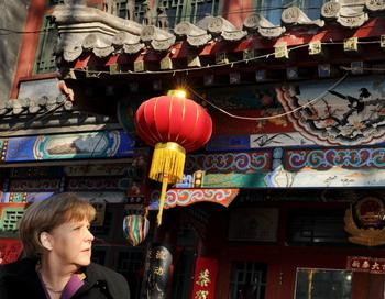 Ангела Меркель направилась в Китай с официальным визитом