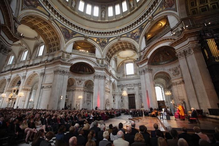 Китай протестует против встречи Камерона с Далай-ламой в Лондоне