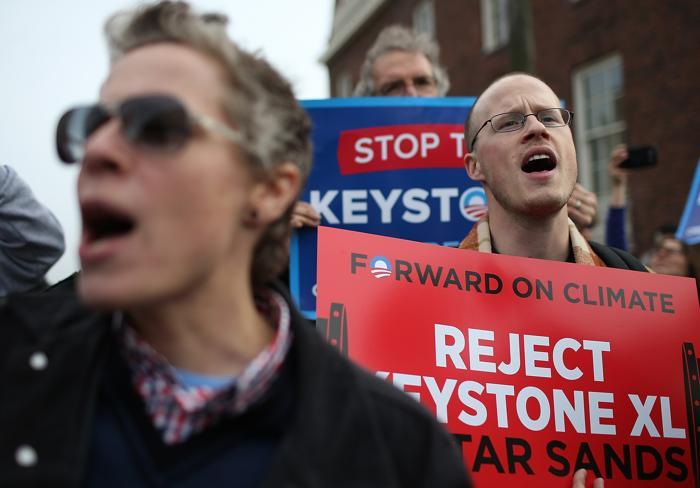 В США жители выступили против создания крупного нефтепровода