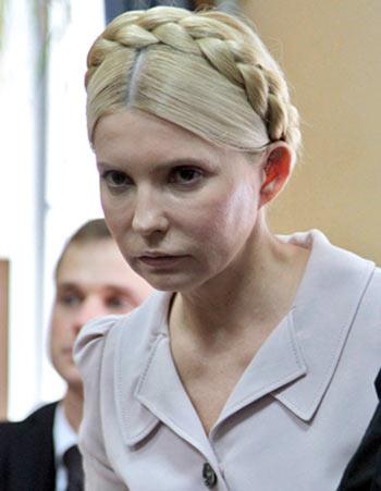 Обвинение потребовало приговорить экс-премьера Украины Тимошенко к 7 годам лишения свободы