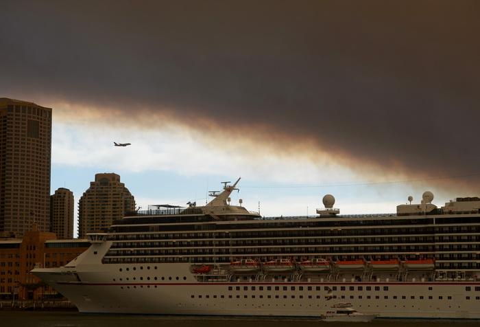 163 Australia forest fire - Сильные пожары бушуют на востоке Австралии